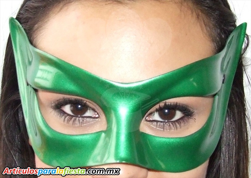 Antifaz italiano verde for Disfraces antifaz