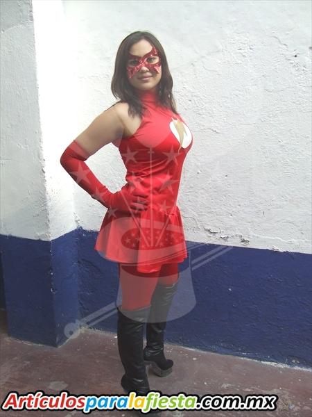 Disfraz de mujer flash